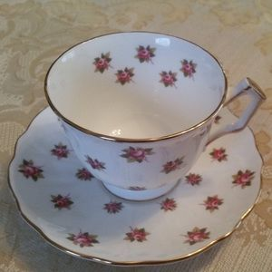 Vintage Anysley Rose Spray Tea Cup  and Saucer